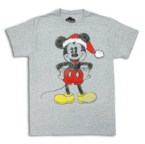 Santa Mickey Shirt