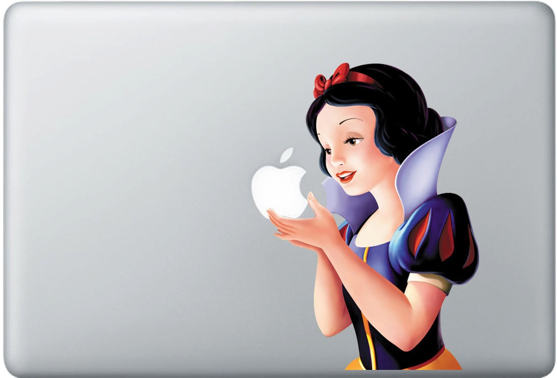 Snow White Computer Decal